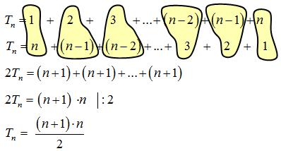 Liczba trójkątna na olimpiadzie matematycznej