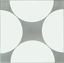 Pole figury ograniczonej kwadratem i kołami