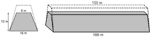 Objętość graniastosłupa o podstawie trapezu