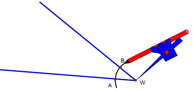 Konstrukcja dwusiecznej