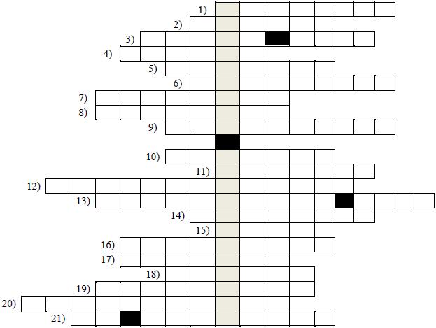 Krzyżówka matematyczna