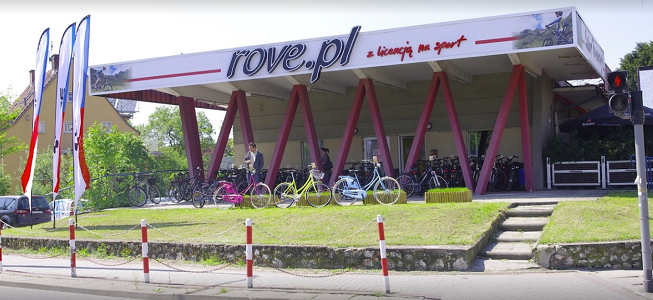 sklep rowerowy rove