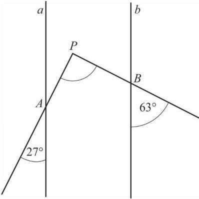 Dowód matematyczny - proste równoległe