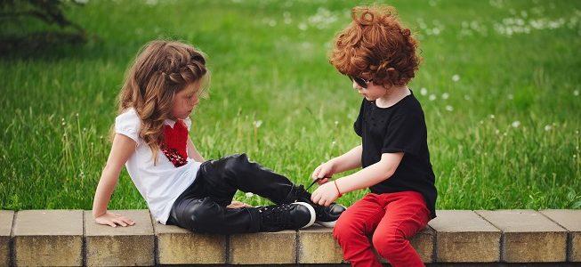 dziecko buty szkoła