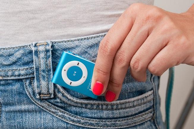 odtwarzacz mp3 w kieszeni