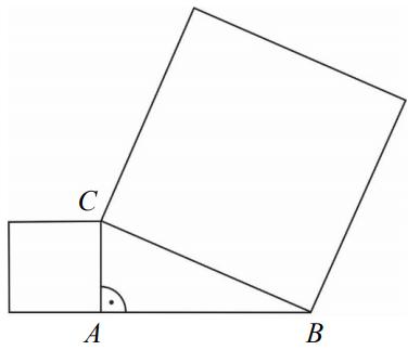 egzamin gimnazjalny zadanie 16 kwadraty na bokach trójkąta