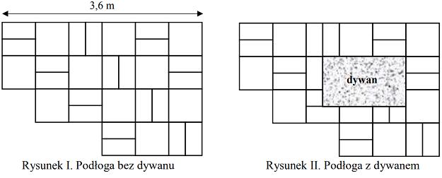 Wymiary prostokątnego dywanu zadanie 5 egzamin 8 klasisty 2018