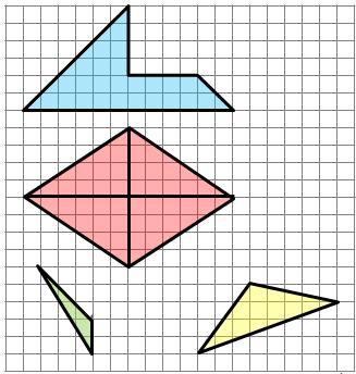 Pola figur - powtórka do egzaminu ósmoklasisty z matematyki