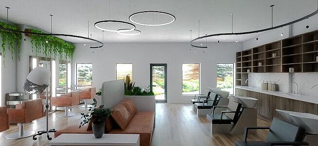 Lampy obręcze